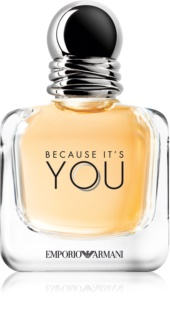 Armani Emporio Because It's You Eau de Parfum para mulheres 50 ml