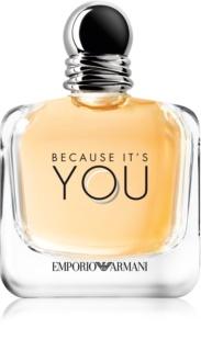 Armani Emporio Because It's You Eau de Parfum für Damen 150 ml