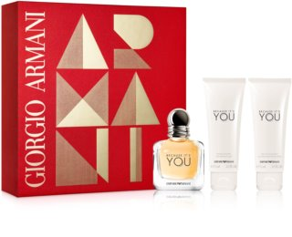 Armani Emporio Because It's You lote de regalo II.