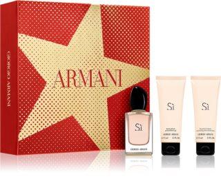 Armani Sì  Gift Set  X. voor Vrouwen