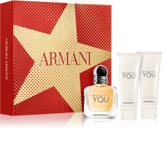 Armani Emporio Because It's You darilni set III. za ženske