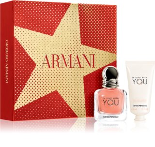 Armani Emporio In Love With You coffret IV. para mulheres
