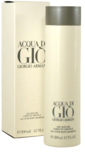 Armani Acqua di Gio Pour Homme tusfürdő férfiaknak 200 ml