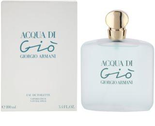 Armani Acqua di Gio Eau de Toilette für Damen 100 ml
