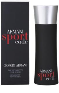Armani Code Sport Eau de Toilette for Men 75 ml