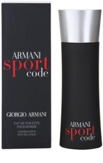 Armani Code Sport Eau de Toilette für Herren 75 ml