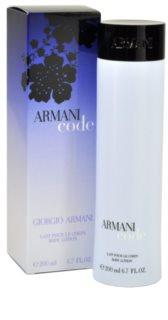 Armani Code tělové mléko pro ženy 200 ml