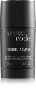 Armani Code desodorizante em stick para homens 75 ml