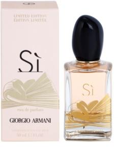 Armani Sì  Limited Edition eau de parfum per donna 50 ml