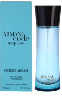 Armani Code Turquoise туалетна вода для чоловіків 1 мл пробник