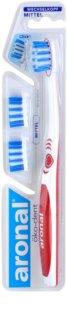 Aronal Dental Care зубна щітка + 2 замінні головки середньої жорсткості
