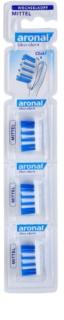 Aronal Dental Care 3 Ersatz-Aufsätze für die Zahnbürste