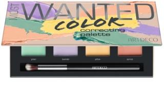 Artdeco Cover & Correct Most Wanted палитра коректори против несъвършенства на кожата