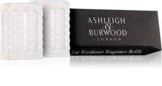 Ashleigh & Burwood London Car Coconut & Lychee ambientador de coche para ventilación 2 x 5 g recarga de recambio