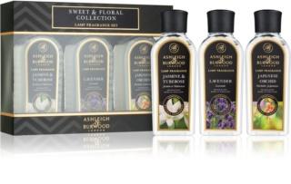 Ashleigh & Burwood London Lamp Fragrance Sweet & Floral zestaw upominkowy III. Jasmine & Tuberose, Lavender, Japanese Orchid