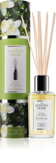 Ashleigh & Burwood London The Scented Home Jasmine & Tuberose diffusore di aromi con ricarica 150 ml