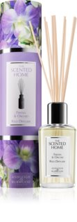 Ashleigh & Burwood London The Scented Home Freesia & Orchid diffuseur d'huiles essentielles avec recharge 150 ml