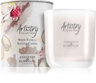 Ashleigh & Burwood London Artistry Collection White Vanilla dišeča sveča