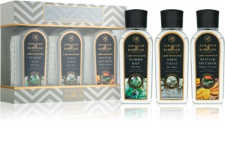 Ashleigh & Burwood London Lamp Fragrance New Season darilni set I. Summer Rain, White Velvet, Mango & Nectarine