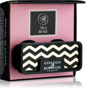Ashleigh & Burwood London Car Tea Rose ambientador de coche para ventilación   clip