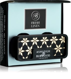 Ashleigh & Burwood London Car Fresh Linen Autoduft   Clip
