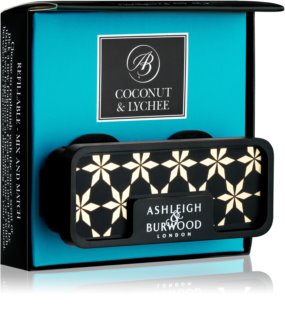 Ashleigh & Burwood London Car Coconut & Lychee aроматизатор за автомобил с клипс