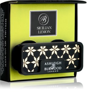 Ashleigh & Burwood London Car Sicilian Lemon ambientador auto clip