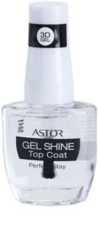 Astor Perfect Stay 3D Gel Shine vrchný ochranný lak na nechty s leskom