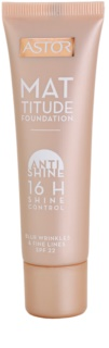 Astor Mattitude Anti Shine matující make-up