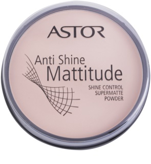 Astor Mattitude Anti Shine pó matificante