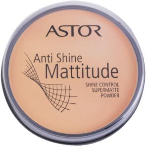 Astor Mattitude Anti Shine mattító púder