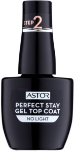 Astor Perfect Stay Gel Top Coat esmalte de acabado de uñas de gel sin usar la lámpara UV/LED