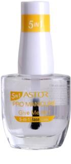 Astor Pro Manicure kompletna baza pod lakier do paznokci 5 in 1