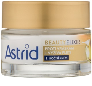 Astrid Beauty Elixir Nourishing Night Cream with Anti-Wrinkle Effect