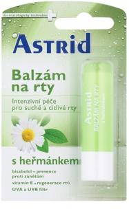 Astrid Lip Care Kamillebalsam für trockene und empfindliche Lippen mit regenerierender Wirkung