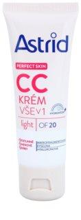 Astrid Perfect Skin crema CC SPF 20