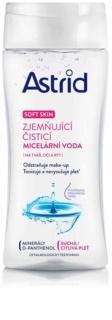 Astrid Soft Skin zjemňující čisticí micelární voda