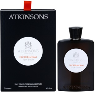 Atkinsons 24 Old Bond Street Triple Extract Eau de Cologne para homens 100 ml