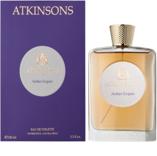 Atkinsons Amber Empire Eau de Toilette unissexo 100 ml