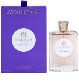 Atkinsons Fashion Decree eau de toilette para mujer 100 ml