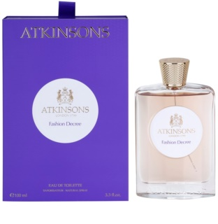 Atkinsons Fashion Decree Eau de Toilette für Damen 100 ml