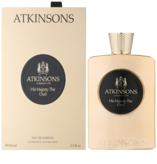Atkinsons His Majesty Oud Eau de Parfum para homens 100 ml