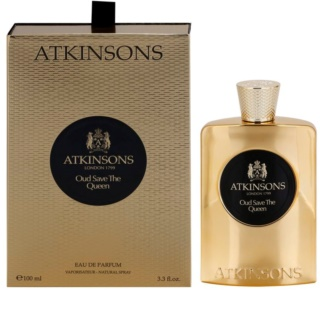 Atkinsons Oud Save The Queen Eau de Parfum para mulheres 100 ml
