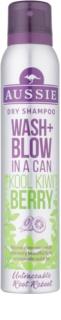 Aussie Wash+ Blow Kool Kiwi Berry champú en seco