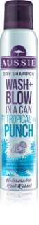 Aussie Wash+ Blow Tropical Punch shampoo secco