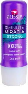 Aussie 3 Minute Miracle Strong globinski triminutni balzam za poškodovane lase