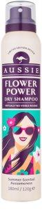 Aussie Flower Power suhi šampon z nežnim cvetličnim vonjem