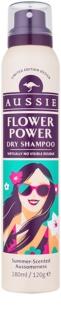 Aussie Flower Power suchý šampon s jemnou květinovou parfemací
