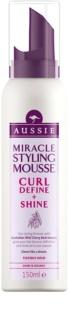 Aussie Mega Hair Mousse for Curl Definition