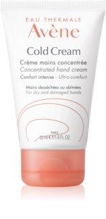 Avène Cold Cream crema de manos para pieles secas y muy secas